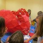 Giant heart lantern